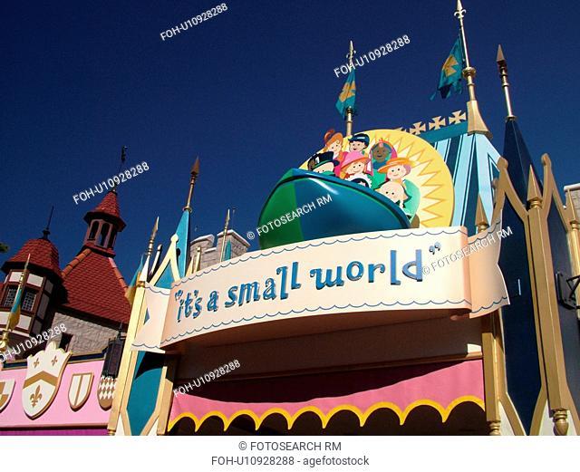 Orlando, FL, Florida, Walt Disney World Resort, Magic Kingdom Park, It's a Small World Ride (Editorial Use Only)