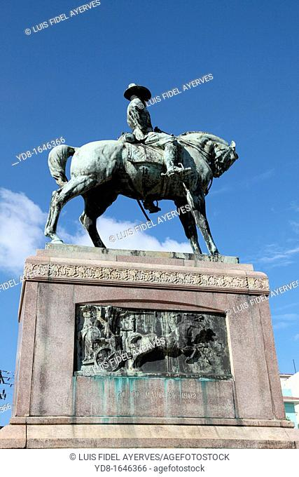 Monument in memory of Calixto Garcia hero of the War of Independence of Cuba