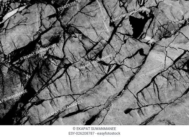 Black and white marble texture, Detailed structure of marble, Abstract natural marble black and white (gray) for design