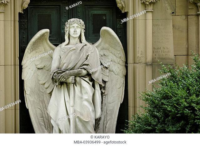 grave yard, grave, statue, angels
