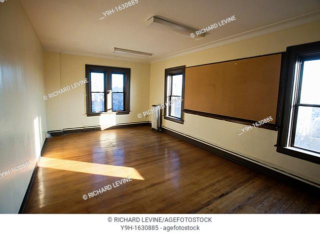 One of the various rooms in what was originally the Troop C Armory, then the 42nd Supply and Transport Battalion New York National Guard Armory and now the...
