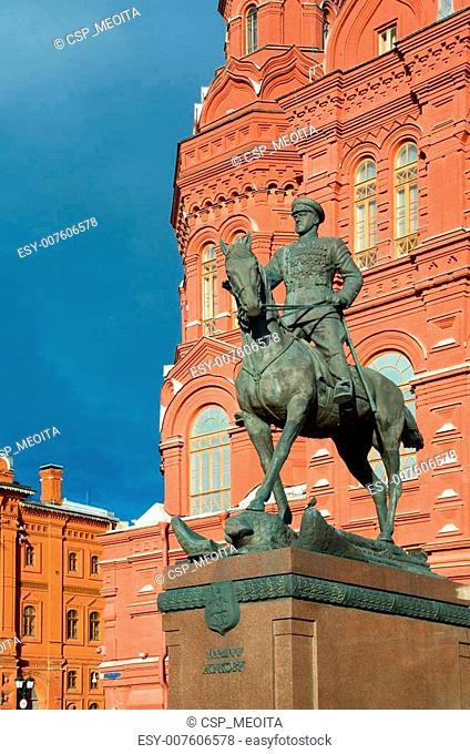 Marshall Zhukov monument