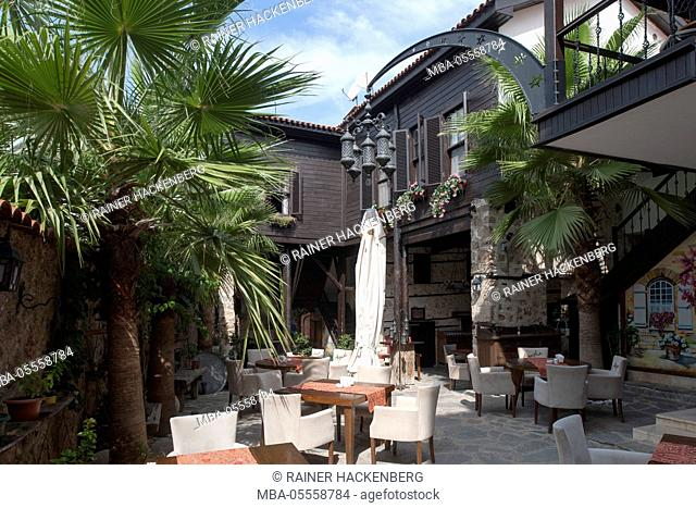 Turkey, Antalya, Old Town, hotel Agatha lodge