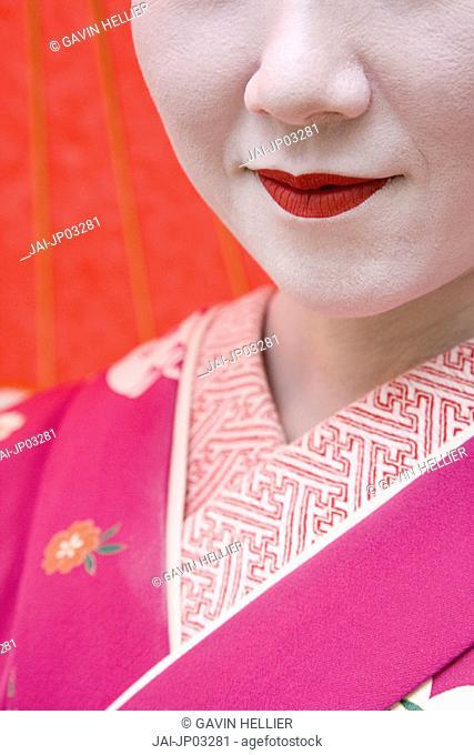 Geisha, Maruyama Koen, Kyoto, Japan