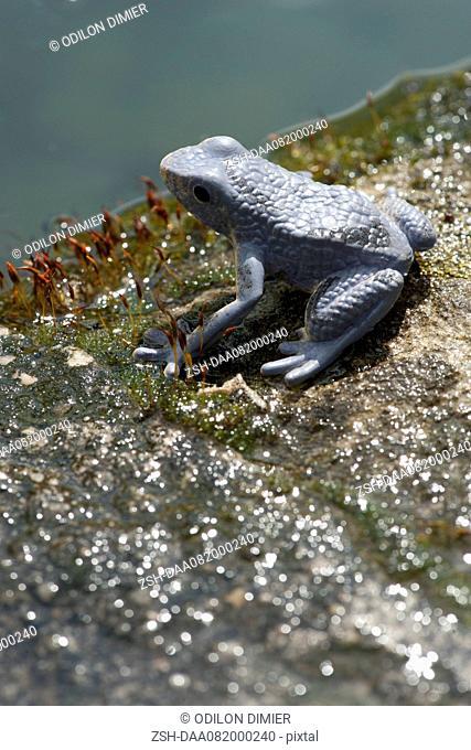 Frog statuette