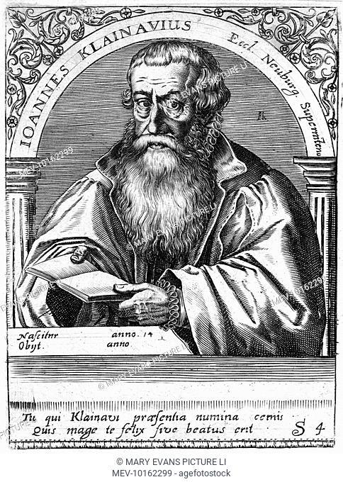 JOHANN KEUCHLIN German-Dutch churchman, Stock Photo, Picture