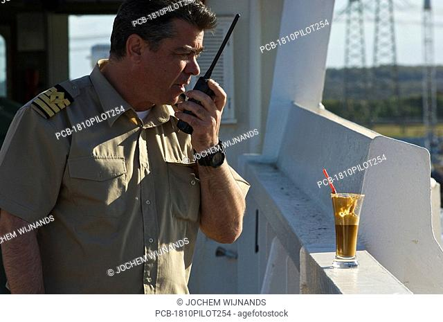 Greek captain of a bulk carrier