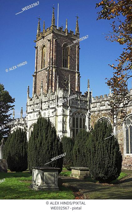 St. Peter's Church, Tiverton, England