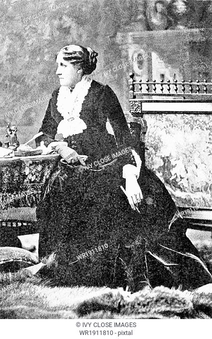 Luisa May Alcott (1832-1888) was an American novelist. She is best known for her novel Little Women. She also wrote Little Men and Jo's Boys