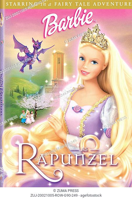RELEASE DATE: Oct. 05, 2002. MOVIE TITLE: Barbie as Rapunzel. STUDIO: Mattel Inc. PLOT: Barbie is an artist who paints her way out of a castle to save her...