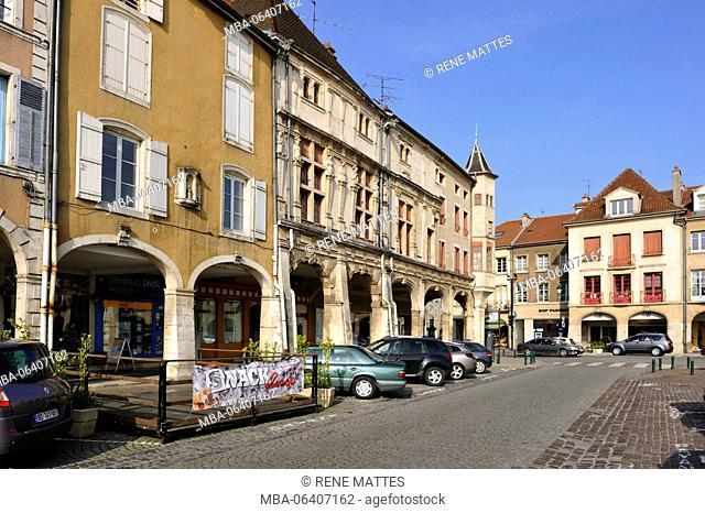 France, Meurthe et Moselle, Pont a Mousson, Duroc square