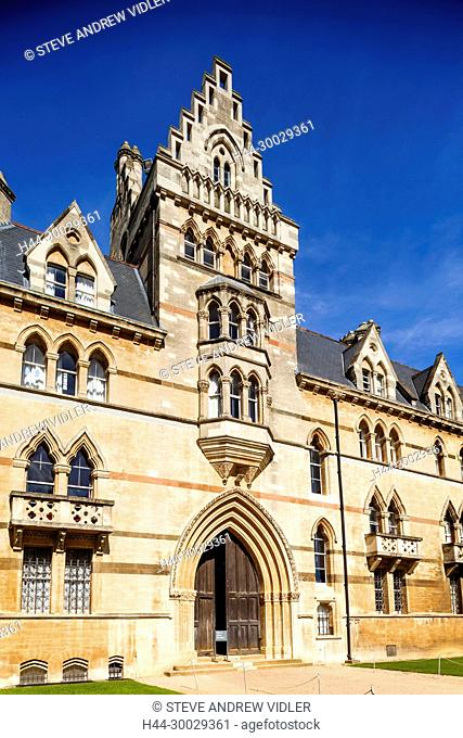 England, Oxfordshire, Oxford, Oxford University, Christchurch College