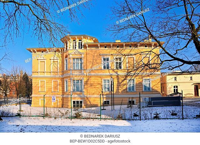 Jan Kasprowicz Museum, Solankowa Street. Inowroclaw, Kuyavian-Pomeranian Voivodeship, Poland