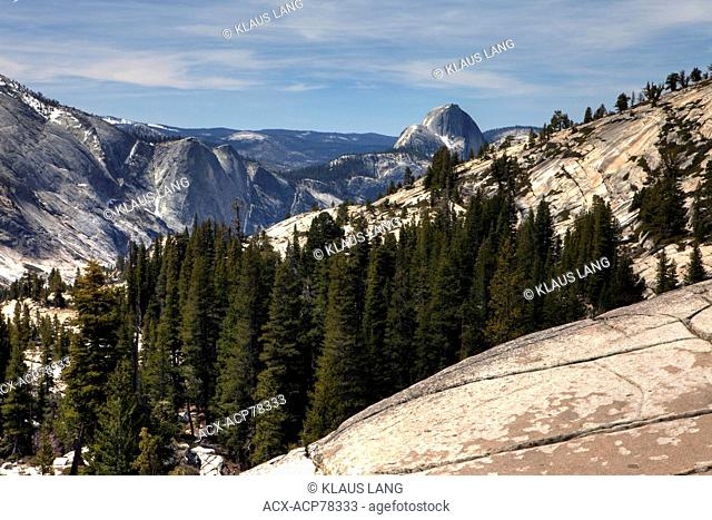 Olmsted Point, Yosemite National Park, California, USA