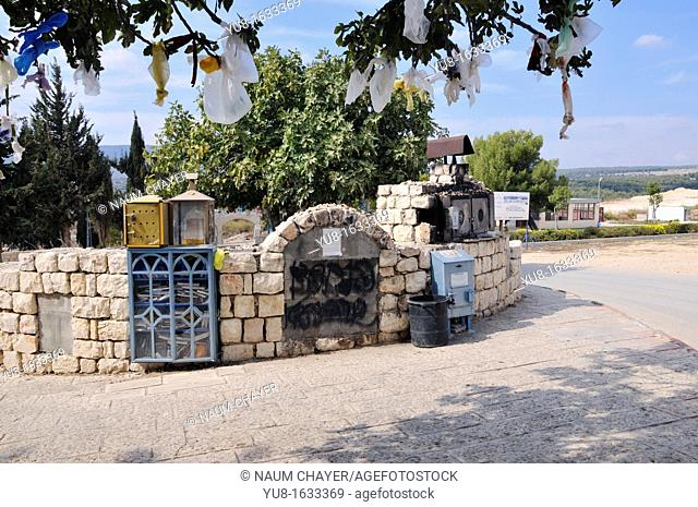 Special part of Safed Ancient Jewish Cemetery, Tzfat, Galilee, Israel,Asia, Middle East