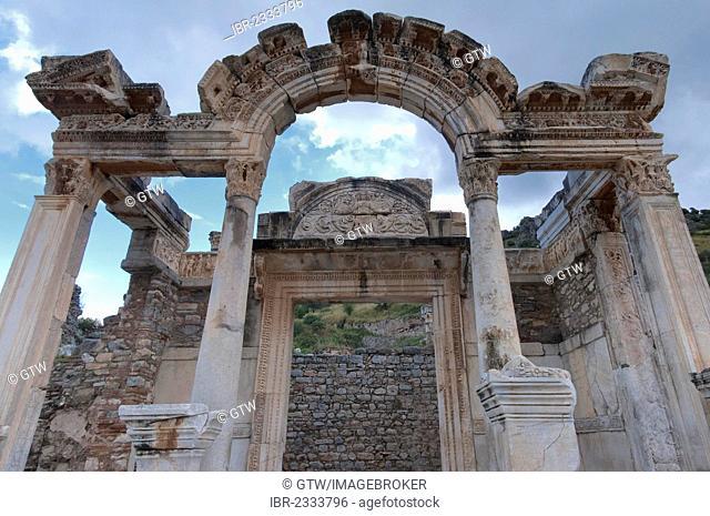 Hadrian Temple, Ephesus, Izmir Province, Turkey