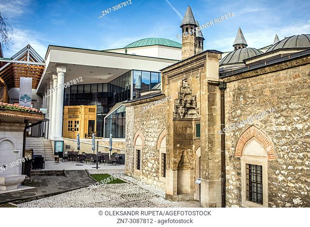 The Hammam in the Gazi Husrev-beg's Mosque, Sarajevo, Bosnia and Herzegovina