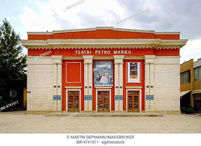 Theater Petro Marko, Vlorë, Vlorë, Qark Vlorë, Albania