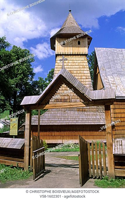 Poland, World Heritage Site, Binarowa, Church of the Archangel Michael 16th C