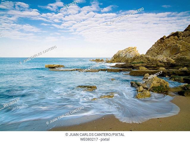 Azkorri beach. Biscay, Euskadi, Spain