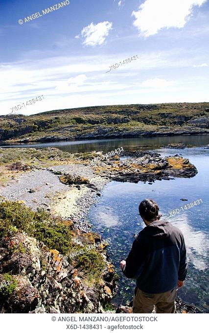 H island, Ushuaia, Tierra del Fuego island, Argentina