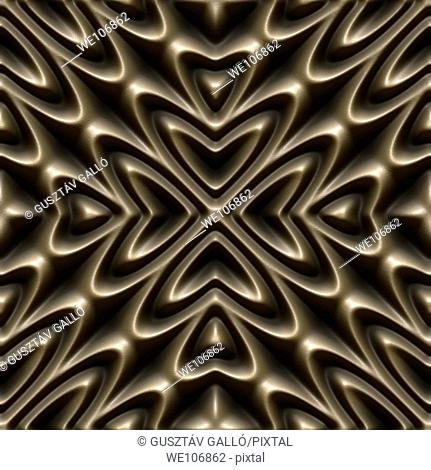 bronze seamless tileable decorative background pattern