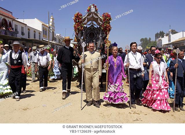 El Rocio Festival , Andalucia , Spain
