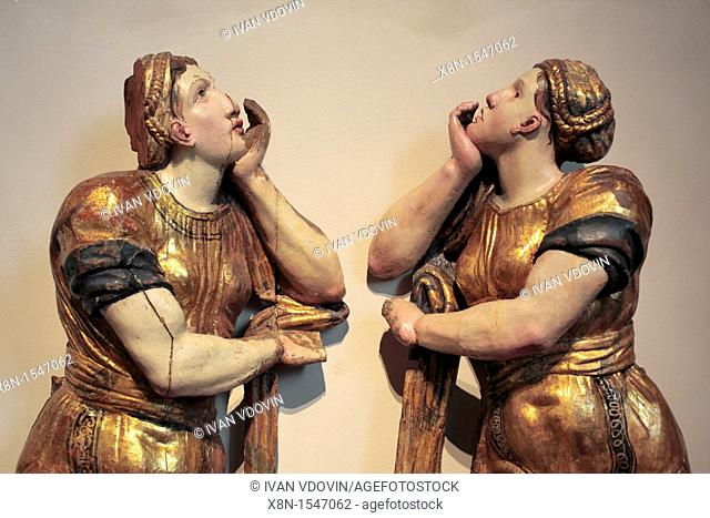 Sculpture by Alonso Berruguete 16th century, National Sculpture Museum, Valladolid, Castile and Leon, Spain