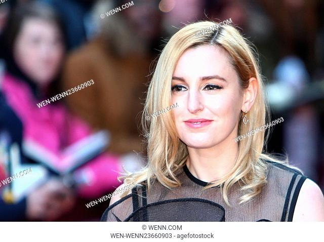 Arrivals for the Jameson Empire Awards 2016 at the Grosvenor House Hotel Featuring: Laura Carmichael Where: London, United Kingdom When: 20 Mar 2016 Credit:...