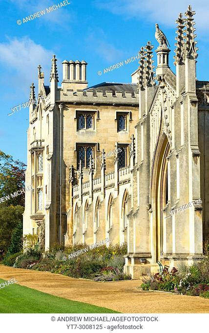 St John's College, Cambridge University, Cambridge, Cambridgeshire, England, UK
