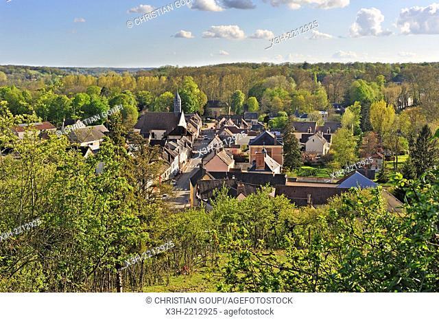 Coulombs village, Eure-et-Loire department, Centre region, France, Europe