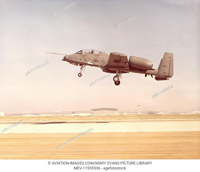 Fairchild Ya-10B Thunderbolt II / 2 Used for Testing the Night Vision Sensors