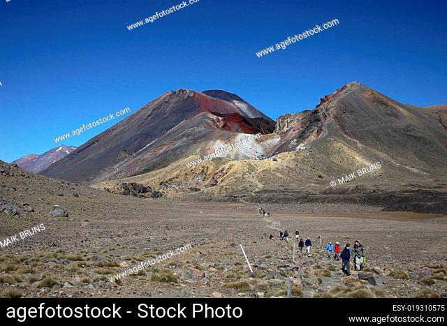 Blick zum Red Crater
