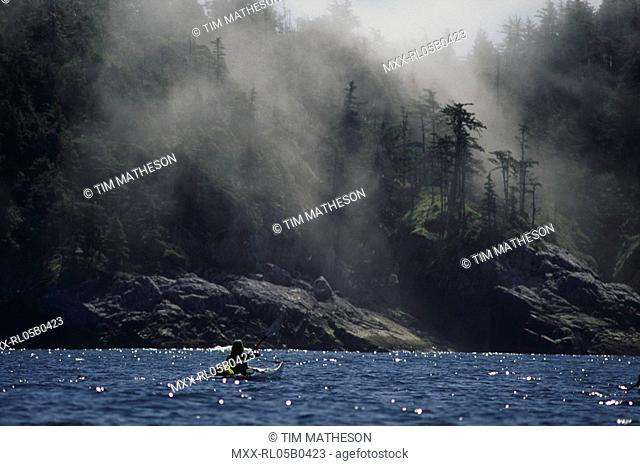 Ocean Kayaking, Discover Coast, BC