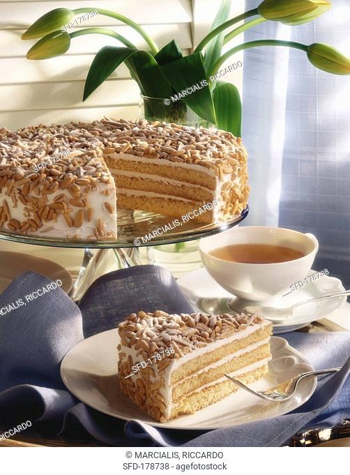 Sarah Bernhard cake