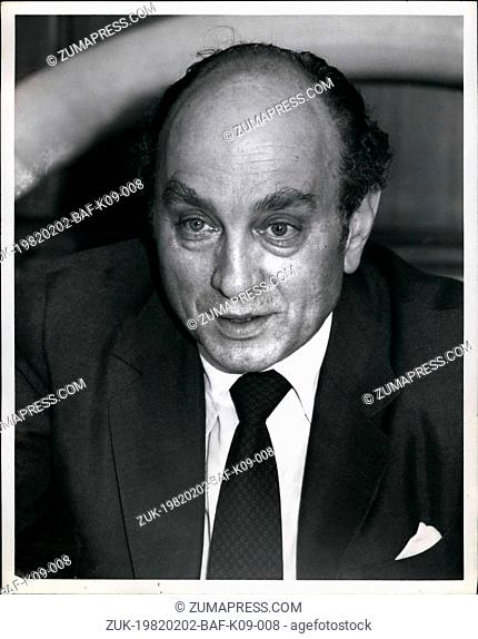Feb. 02, 1982 - The Pierre Hotel, New York City: Federal Minister Of Economics For The Federal Republic Of Germany, His Excellency Dr