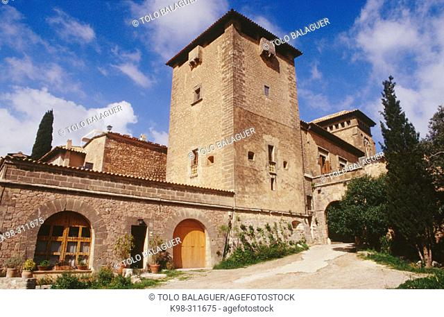 King Sancho's Palace, charterhouse. Valldemosa. Majorca, Balearic Islands. Spain