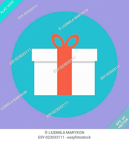 Gift box - vector illustration
