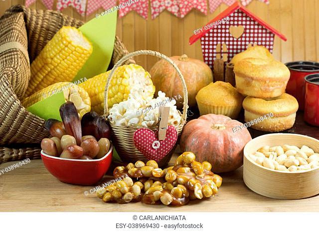 Brazilian farm country food