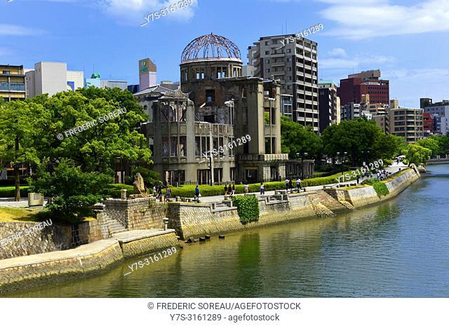 Atomic Bomb Dome, Unesco World Heritage Site, Hiroshima, Western Honshu, Japan, Asia