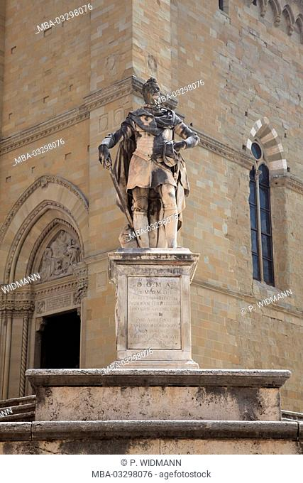 Italy, the cathedral in Arezzo