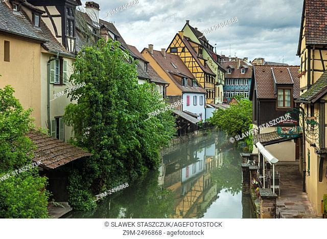 "Spring afternooon """"Little Venice"""", Colmar, Alsace, France"