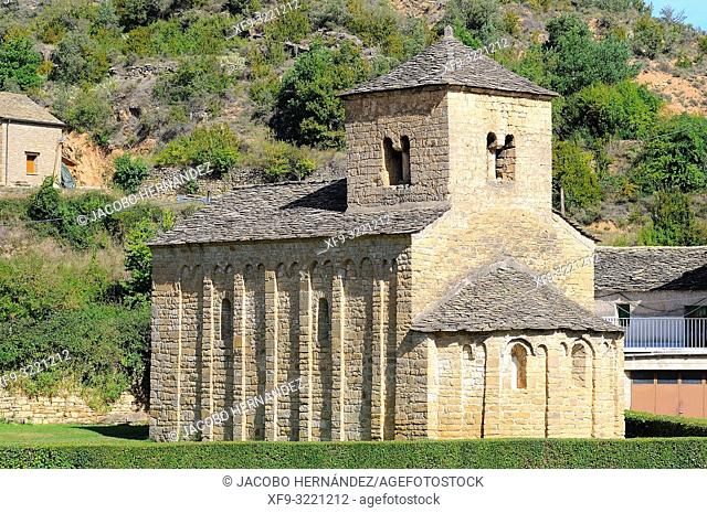 Romanesque church of San Caprasio. Santa Cruz de la Serós. Huesca province. Aragón. Spain