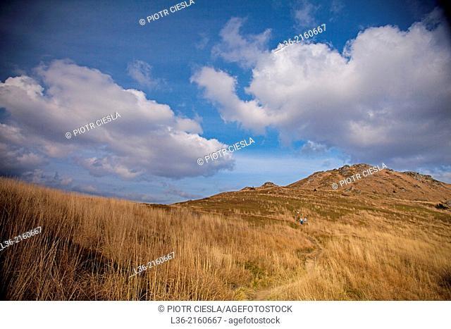Bieszczady Mountains. Bieszczady National Park. Poland. Autumn