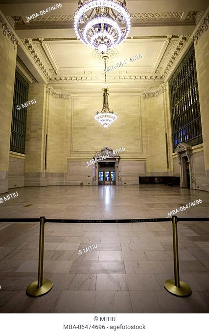 Grand Central station from the inside, Manhattan, New York city, New York, the USA, North America