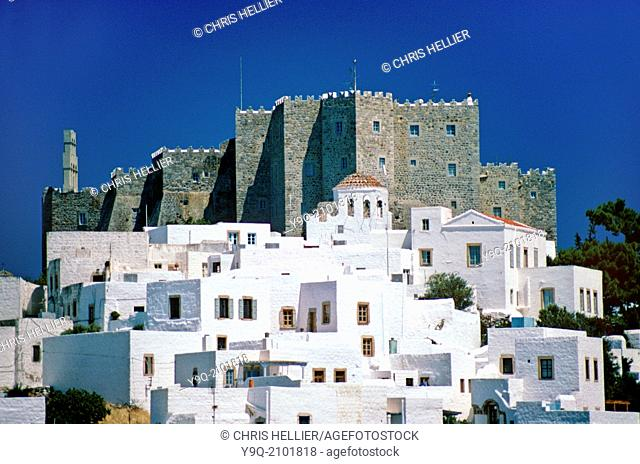 Monastery of Saint John the Theologian Patmos Greece