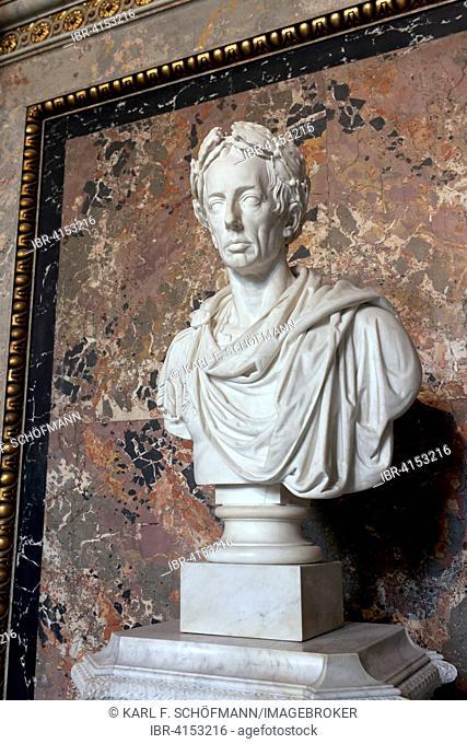 Emperor Franz I, bust by Camillo Pacetti, Kunsthistorisches Museum, Vienna, Austria
