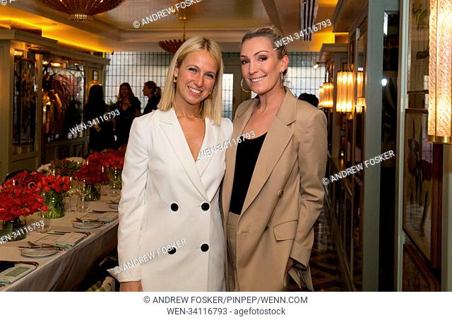 Fashion designer Misha Nonoo hosted her first UK 'WoMN On The Go' dinner at the Ivy Chelsea Garden on Thursday (26Ap18). The event celebrated Nonoo's dedication...