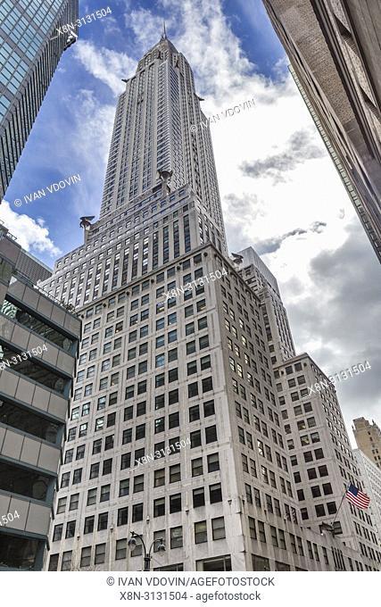 Chrysler building (1930), New York City, USA