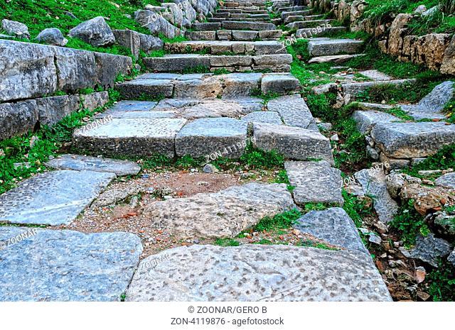 Treppe nach Priene, Stairs to Priene